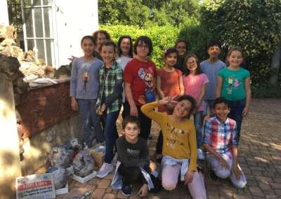 KITOO et les enfants de l'école HERRIOT