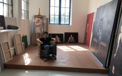Dominique Renson ouvre son atelier à la Villa Antonine