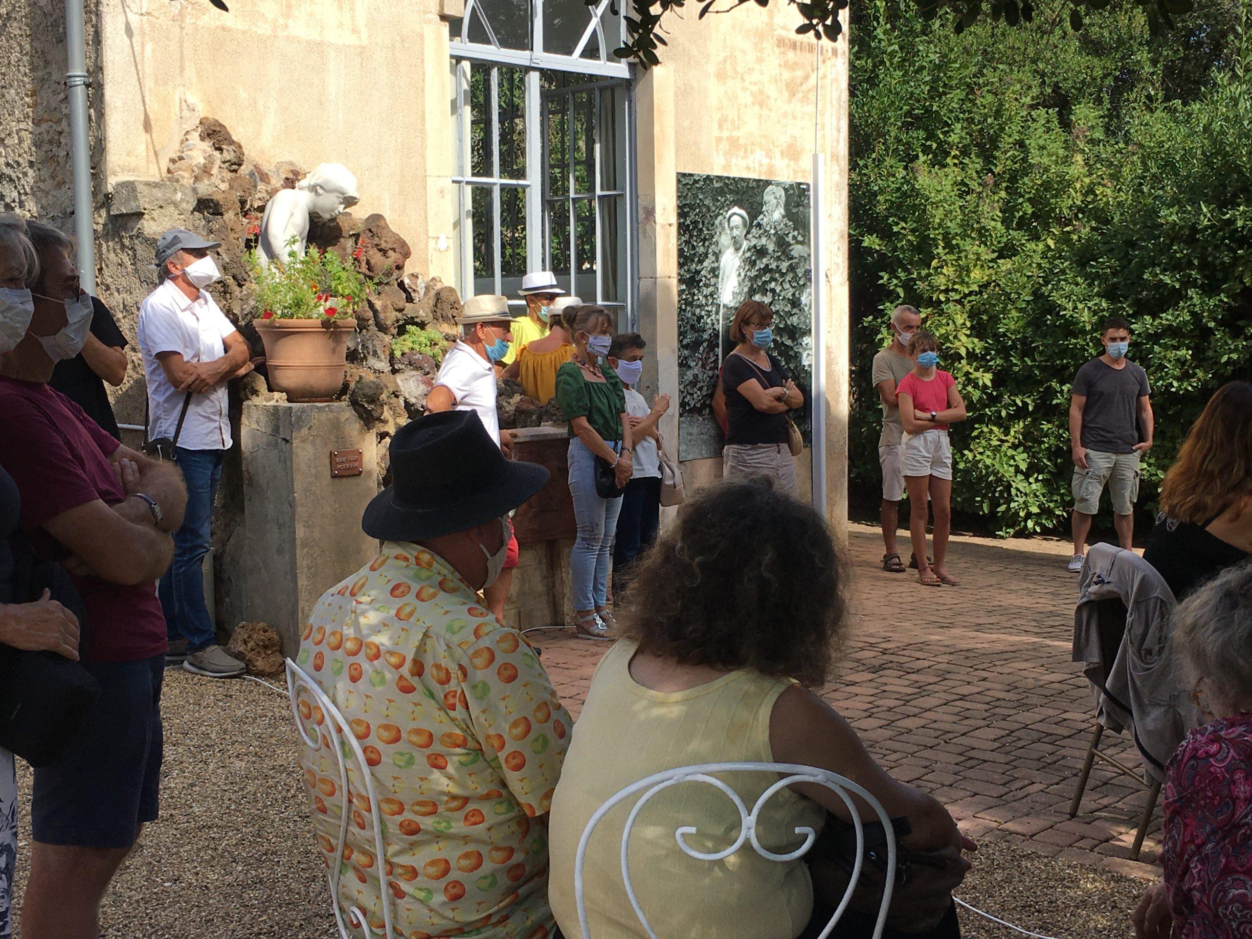 Les chanteurs de l'avant-scène à la Villa Antonine
