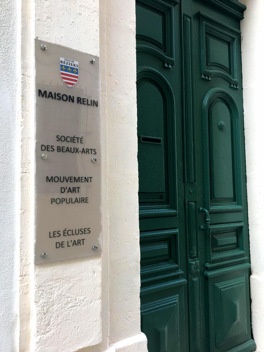 La Maison Relin à Béziers